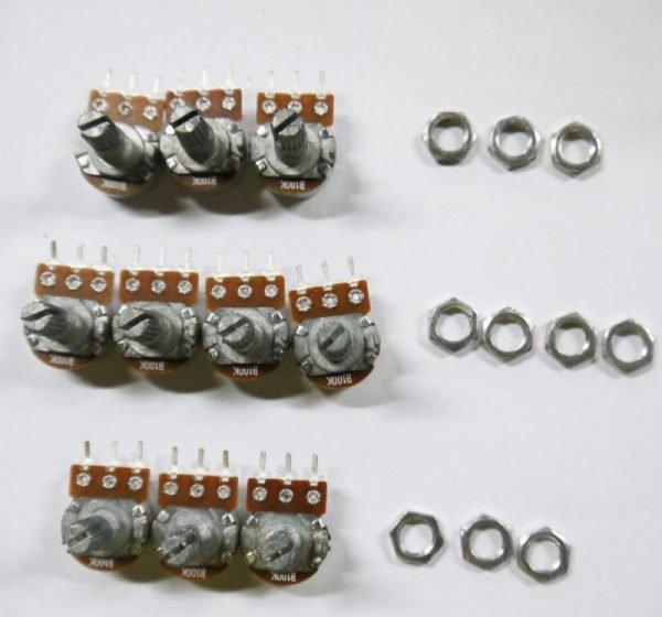 2x Potenciometro B50K lineal 50k OHM kΩ