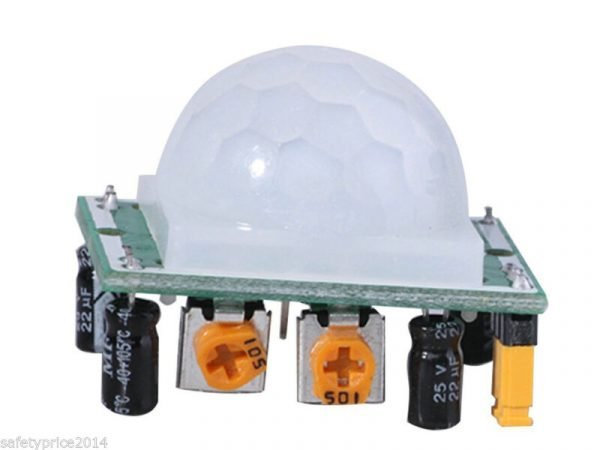 5x Modulo Sensor detector de Movimiento PIR HC-SR501