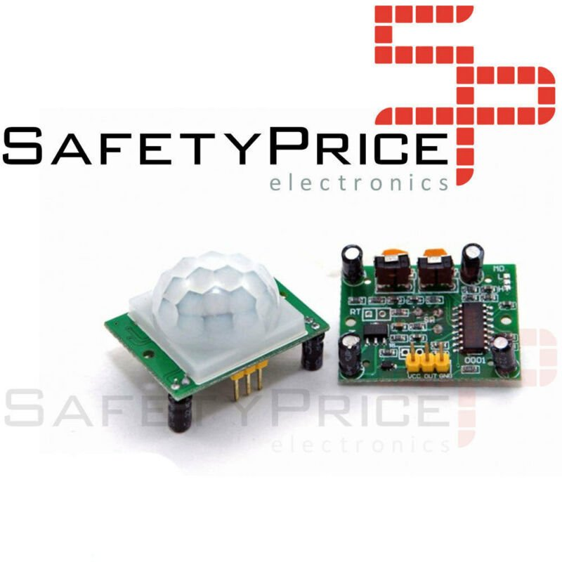 10x Modulo Sensor detector de Movimiento PIR HC-SR501