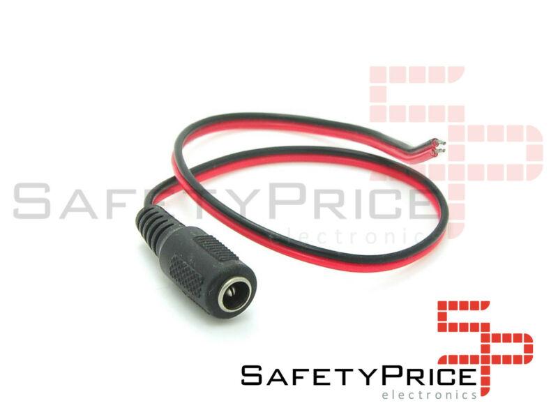 Cable de alimentación DC hembra DC 5.5 * 2.1mm Electronica Arduino