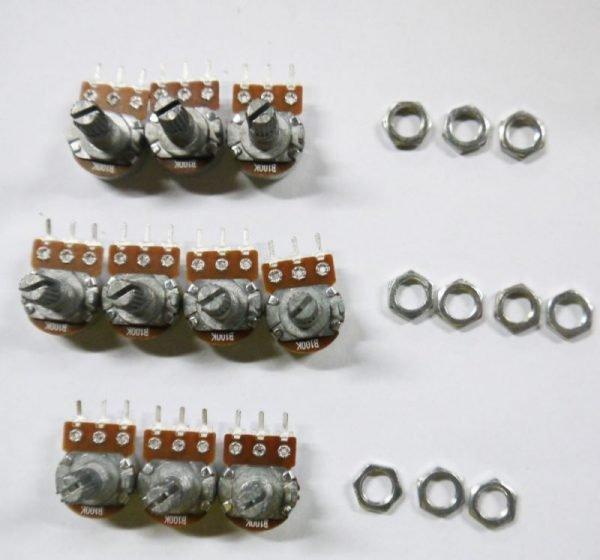 Potenciometro B50K lineal 50k OHM kΩ - linear potentiometer 50k