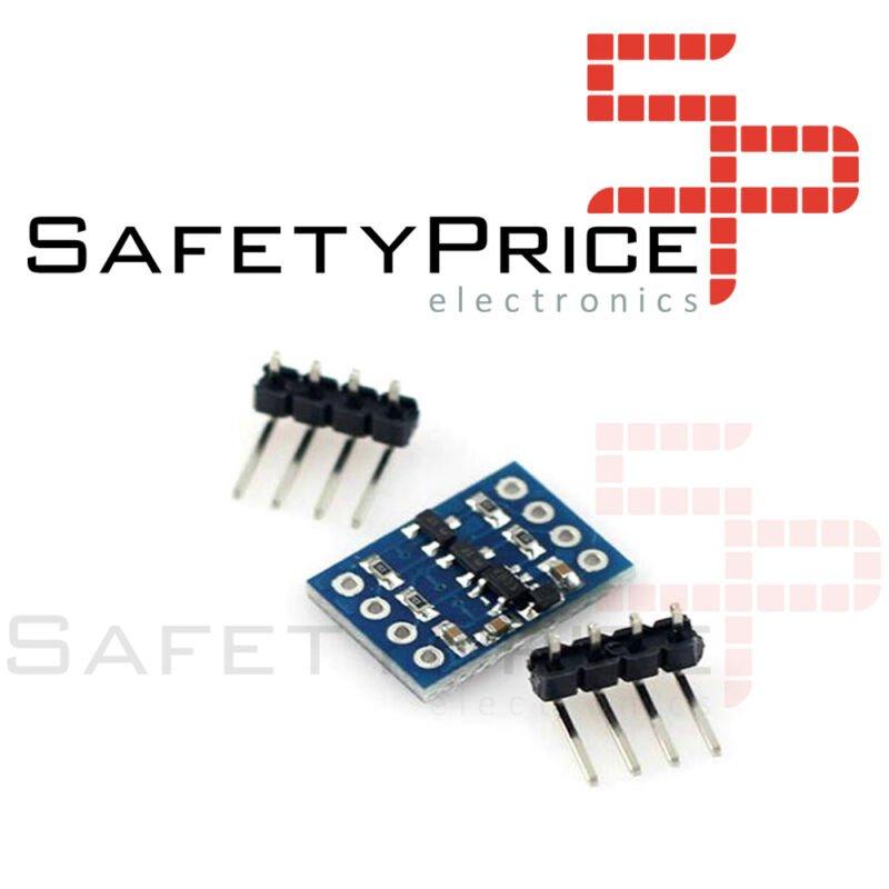 Conversor de nivel TTL 3,3 - 5 Vdc Bidireccional TTL, I2C, UART, SPI, Arduino