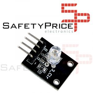 Modulo led RGB 5mm tricolor Arduino electronica cátodo comun KY-016