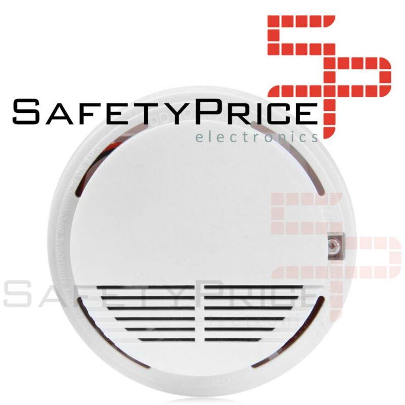 Detector de humo fuego incendio inalámbrico para el hogar