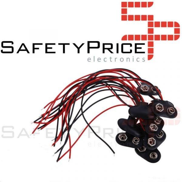 Conector para pila de 9v 6F22 CON CABLE