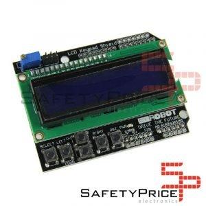 Display LCD1602 Retroalimentado Azul con teclado