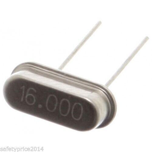 5x OSCILADOR CRISTAL 16.000MHZ 16MHZ HC-49S