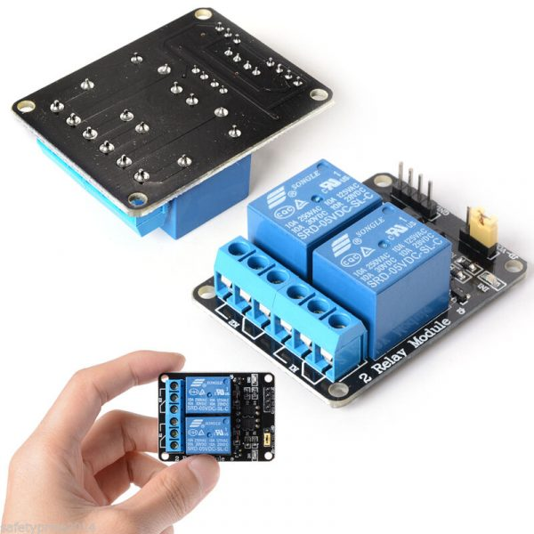 3x MODULO RELE 2 CANALES 5V 10A ARDUINO