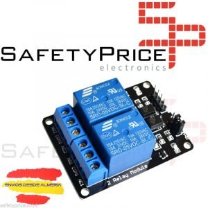 5x MODULO RELE 2 CANALES 5V 10A ARDUINO ARM PIC AVR DSP RELAY RASPBERRY PI