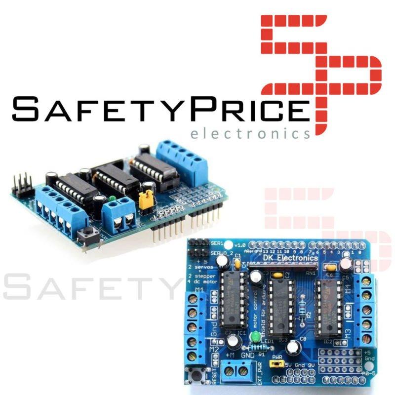 Shield L293D Control de Motores para Arduino