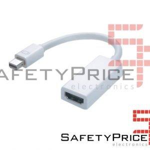 Cable Adaptador mini display port a HDMI displayport audio Apple Mac 1080p