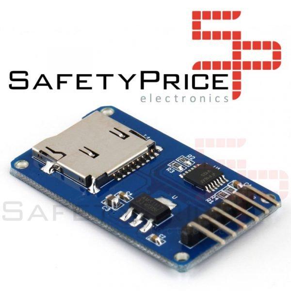 MICRO SD MODULO LECTOR TARJETA MICRO SD CARD ARDUINO electronica microsd