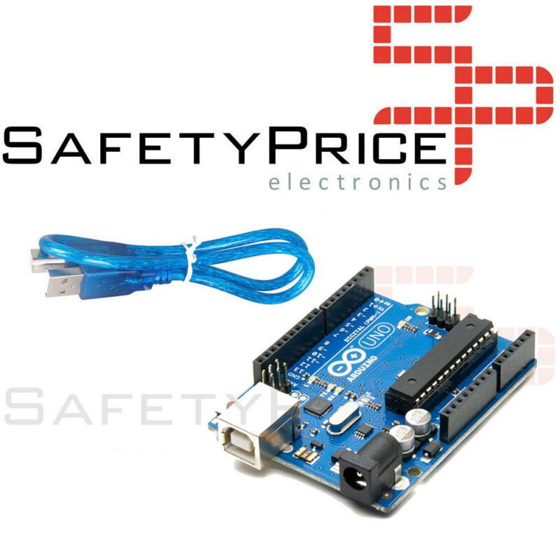 UNO R3 REV3 ATmega328 16U2 100% Compatible Arduino ULTIMA VERSION CABLE INCLUIDO