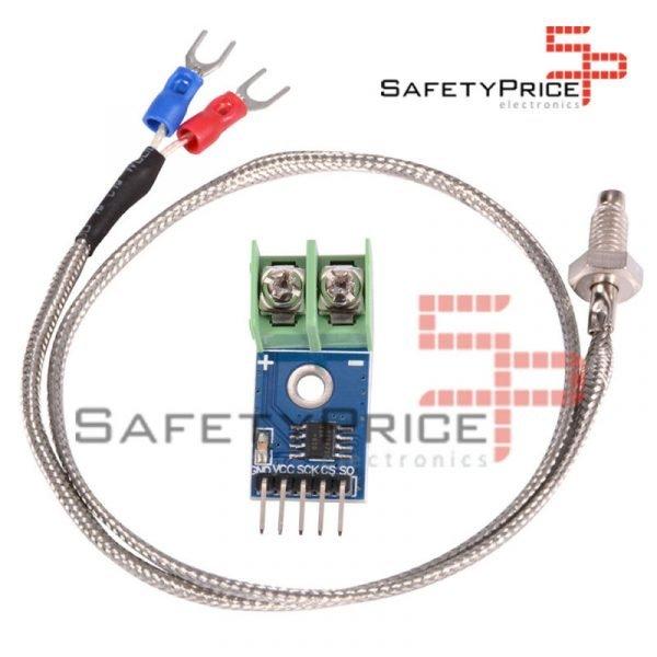 5V MAX6675 Modulo 0-1024°C K Type Thermocouple Temperatura Sensor
