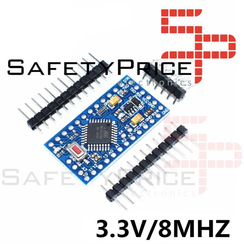 PRO MINI ATMega328 8MHZ 3.3V Compatible 100% ARDUINO