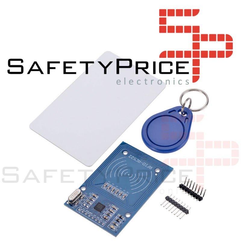 MODULO RFID + LLAVERO TAG * TARJETA 13,56 Mhz SENSOR ARDUINO RC522 13.56