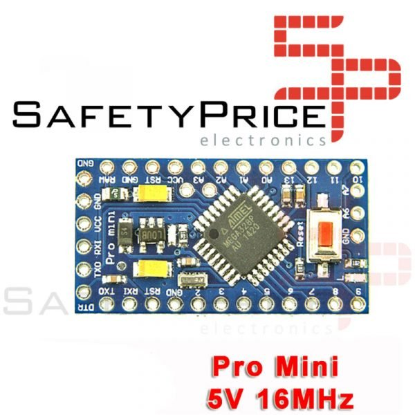 PRO MINI ATMega328 16MHZ 5V Bootloader Pin Header Compatible 100% ARDUINO