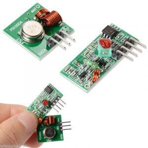 Módulo transmisor y receptor inalámbrico 433 MHZ