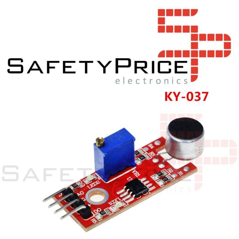 Módulo Sensor de Micrófono Sensible KY-037
