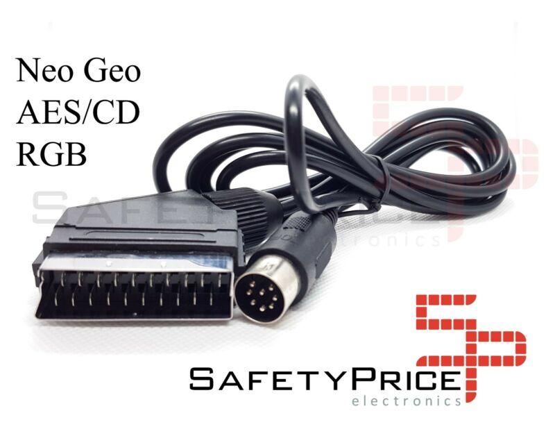 CABLE RGB NEO GEO AES CD NUEVO SNK NEOGEO SCART