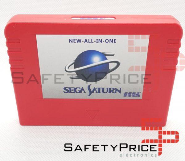 Sega Saturn PSEUDO All in One cartucho chip Region Free