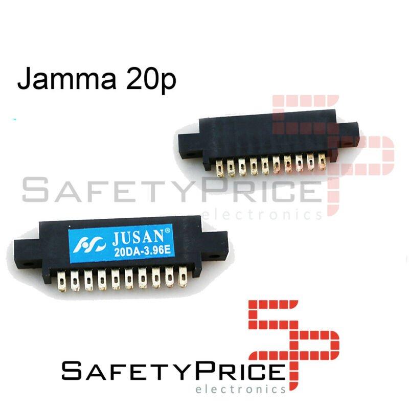 Conector Jamma Hembra 2x10 (20 pin) 20p harness PCB Arcade