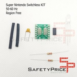 Kit Switchless Snes Super Nintendo 50/60Hz Region Free Supercic 16F630