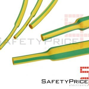 Funda termoretractil 3MM 2:1 Tierra Verde Amarillo