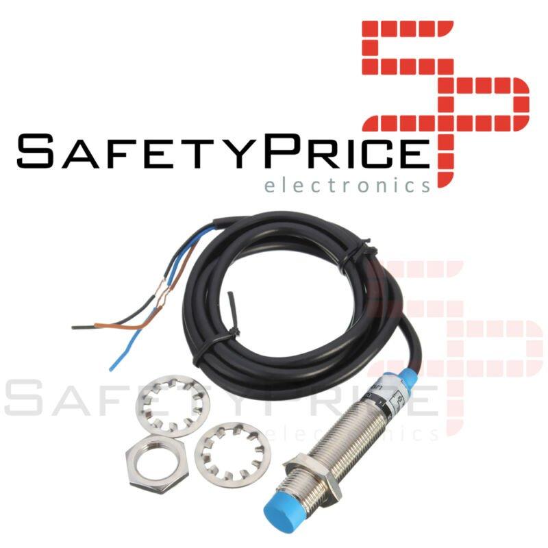 M12 Sensor Proximidad Inductivo PNP DC 6-36V DC LJ12A3-4-Z/BY 3D Impresora