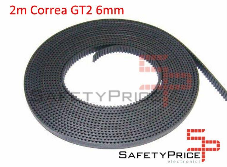 CORREA GT2 6mm BELT IMPRESORA 3D ( 2 METROS )