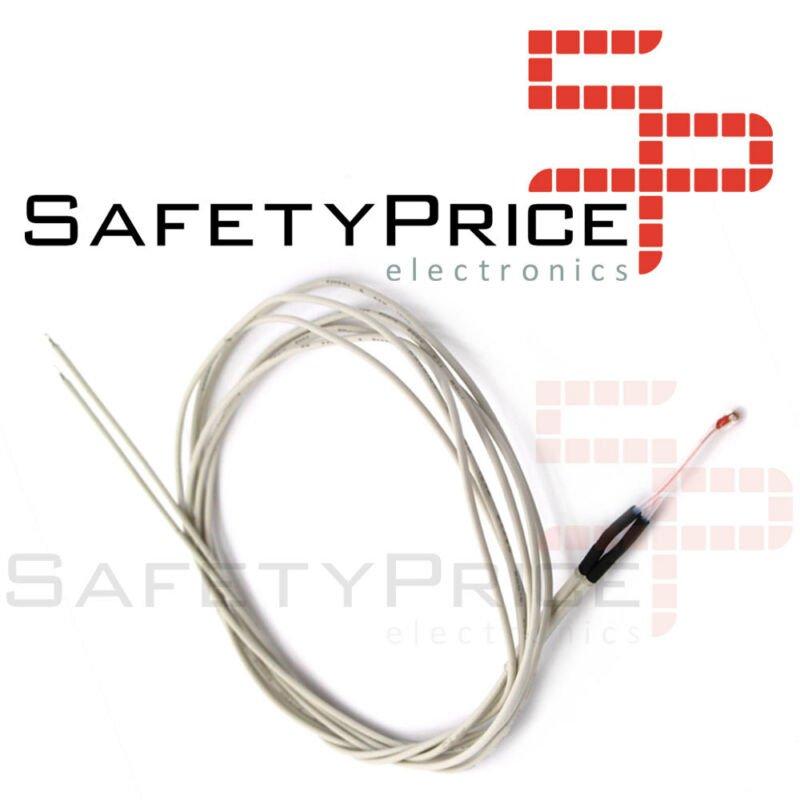 Termistor Sensor de temperatura NTC 100K 3950 con cable 1 metro