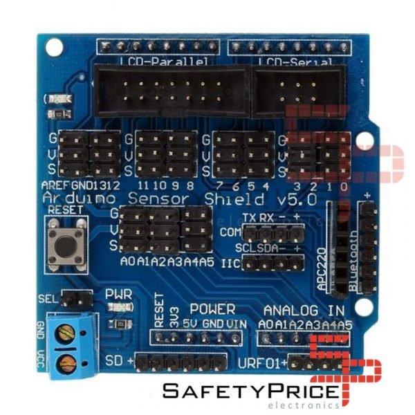 Sensor Shield V5 V5.0 Para Arduino Bluetooth Module Servo UNO MEGA