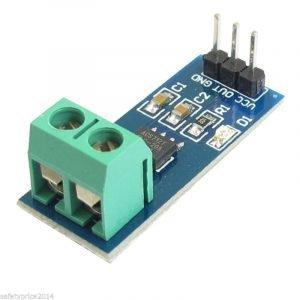 Sensor de Corriente ACS712 AC/DC 20A Arduino, intensidad, Hall