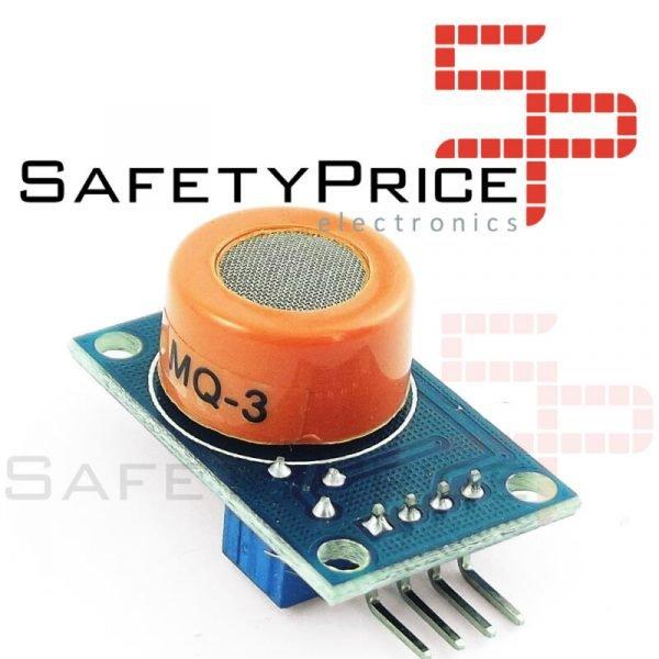 Módulo MQ-3 sensor de Alcohol Arduino