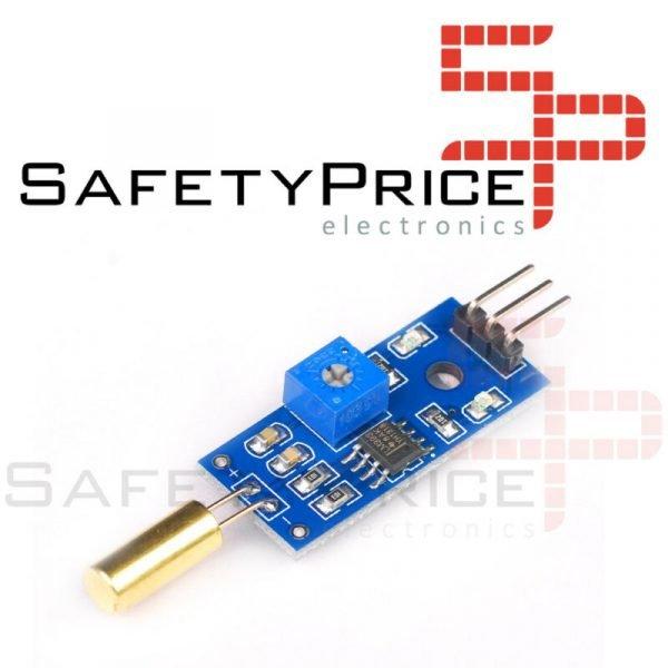 Modulo sensor de inclinacion SW-520D cambio angulo tilt alarma interruptor