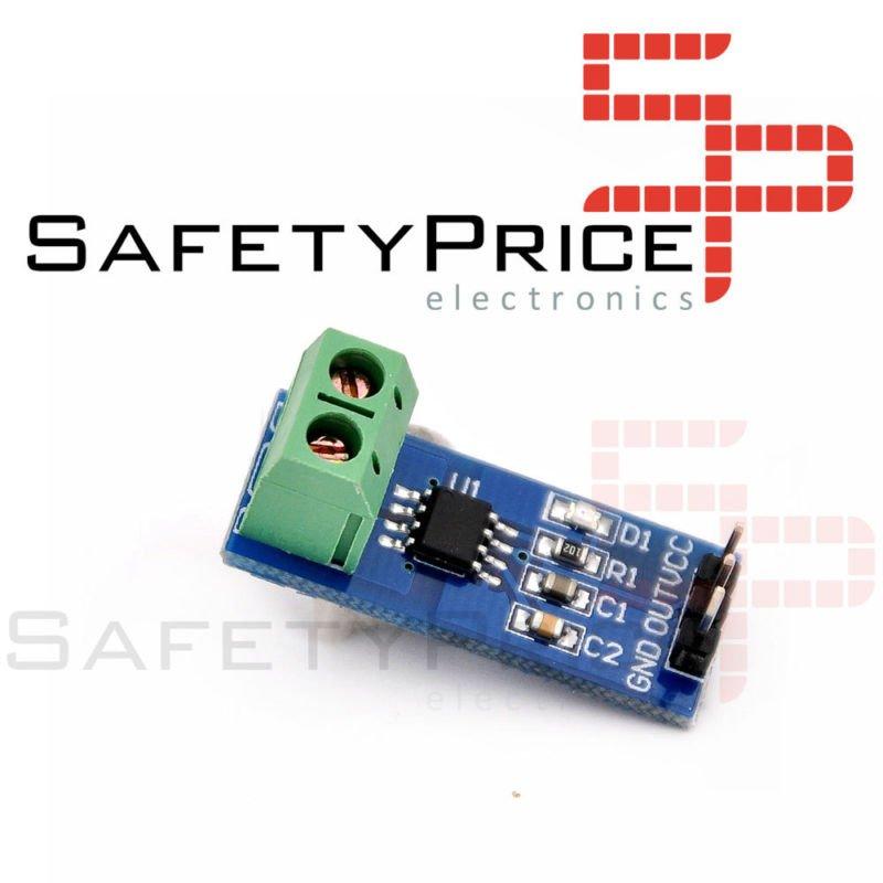 Sensor de Corriente ACS712 AC/DC 5A Arduino