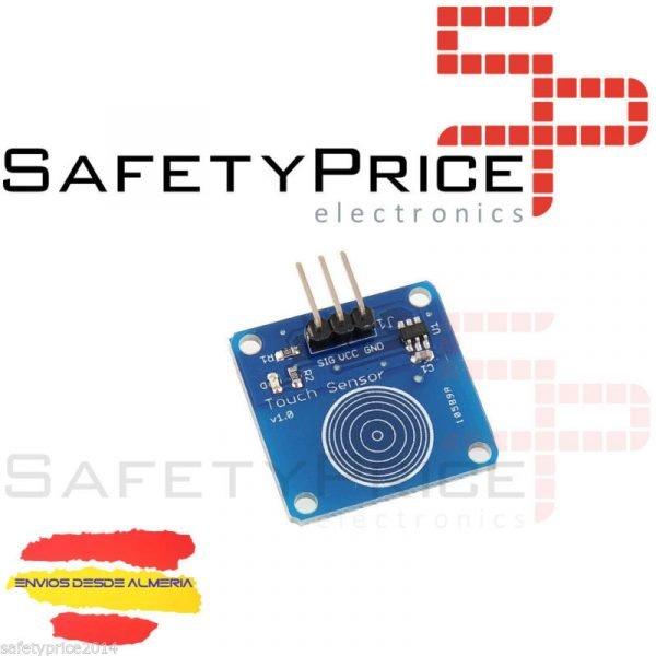 Modulo TTP223B sensor capacitivo digital touch tactil interruptor