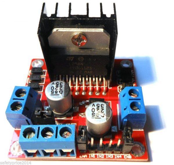 Controlador L298N, driver controlador doble puente H