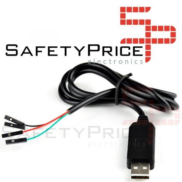 Adaptador PL2303HX USB a serie TTL RS232