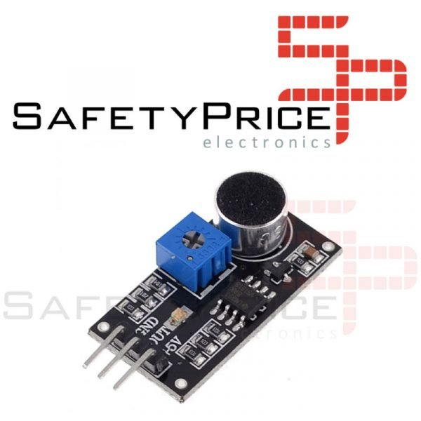 Detector de sonido Chip LM393 Módulo Micrófono para Arduino