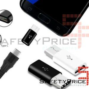 Adaptador Micro USB a 3.1 Tipo C COLOR A ELEGIR