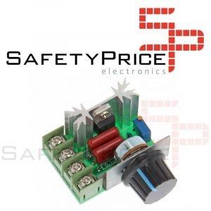egulador voltaje ajustable 50-220V AC 2000W 10A PWM