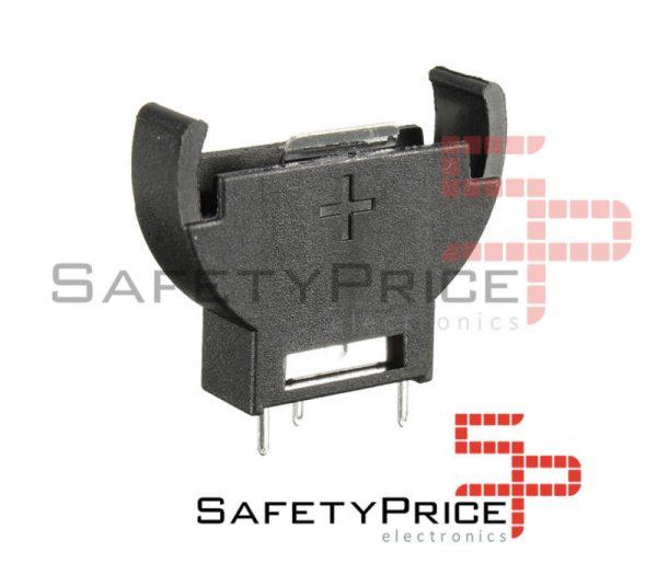 Portapilas VERTICAL porta pila Boton 3v CR2032