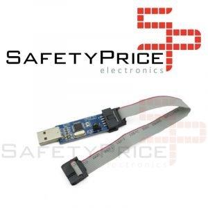 LC-01 51 AVR programador, ISP descarga, USBASP Downloader cable de transferencia