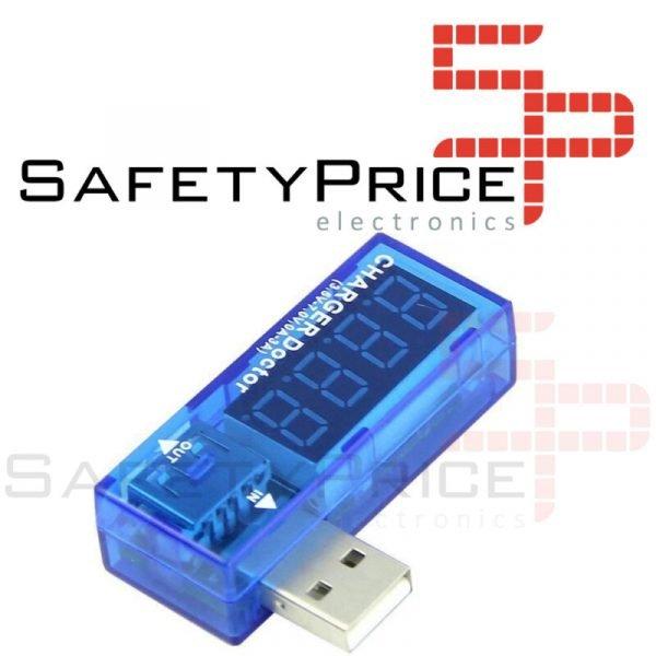 TESTER USB Voltaje Amperios