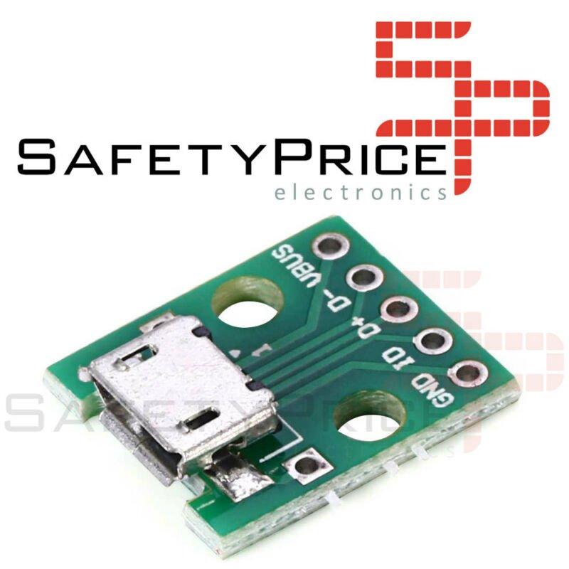 Modulo Adaptador microUSB a DIP Arduino Conversor Electrónica