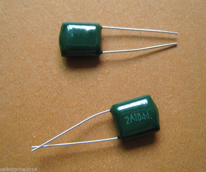 12x Condensador poliester 100nF 100v 2A104J
