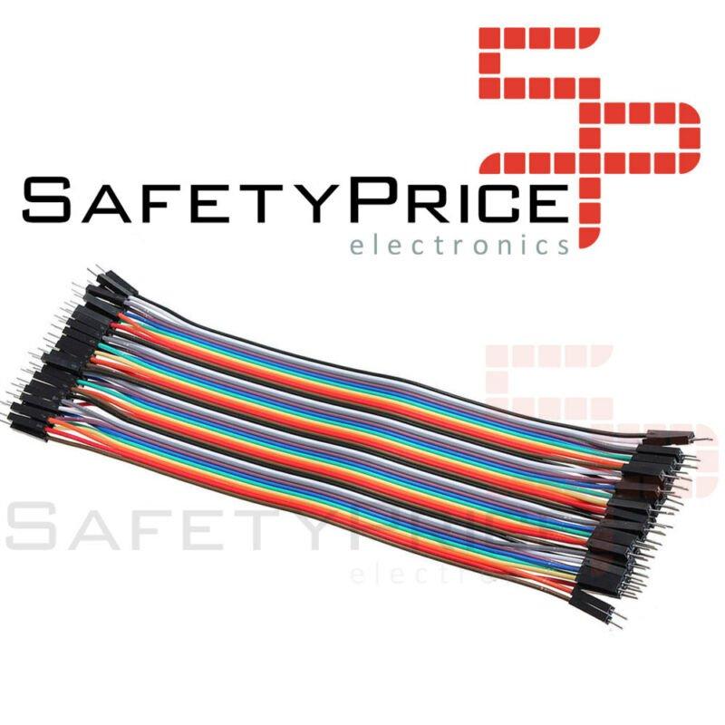 FAJA 40 LINEAS Cables 30 cm Macho Macho jumper dupont 2,54