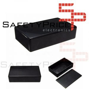 Caja Estanca Plastico Proyecto Electrónico Prototipo ABS Negro 100x60x25