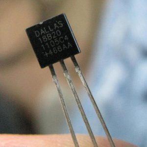 Ds18b20 Digital Temperatura Sensor Dallas To92 + Resistencia 4,7Kohm 1%